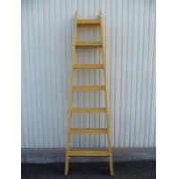 2809 Drevený rebrík dvojdielny ALVE