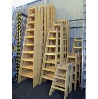 2805 Drevený rebrík dvojdielny ALVE