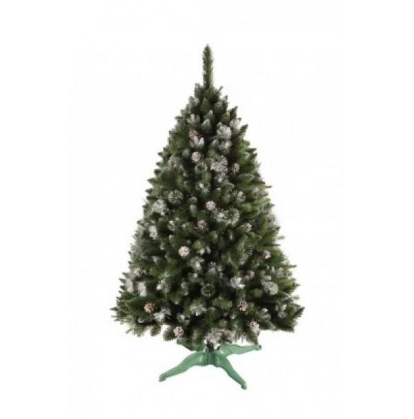 ANMA Vianočný stromček MOUNTAIN 220 cm jedľa biele konce