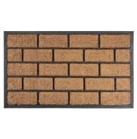 MagicHome RBC 124 Brickwall hnedá 45 x 75 cm