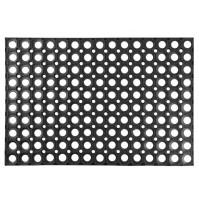 MagicHome RBR 024 Honeycomb 60x40x1,5 cm guma čierna