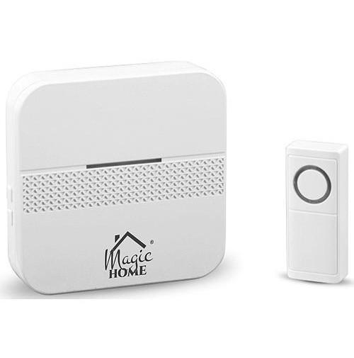 Zvonček MagicHome Intelligent4, bezdrôtový, domový, počet melódií 30, LED, IP44