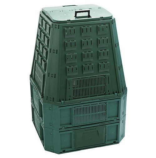 PROSPERPLAST EVOGREEN 800L, zelený kompostér IKEV850Z
