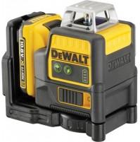 DeWalt DCE0811D1G krížový laser 2x360° zelený