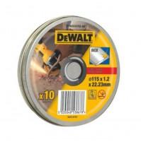 DeWALT DT42335TZ - rezné kotúče 10ks 115mm