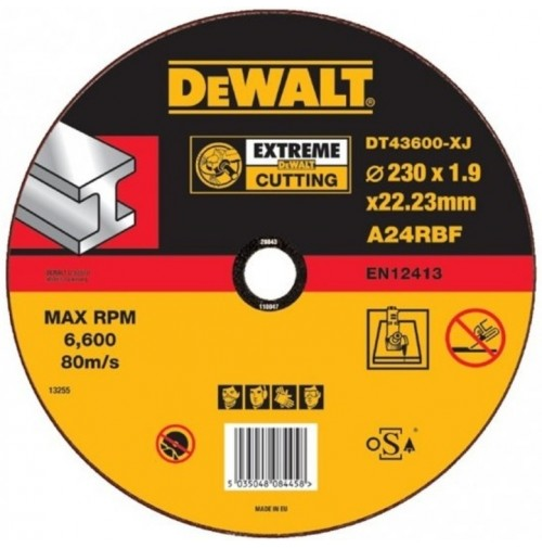 DeWalt DT43600 Rezný kotúč 230mm