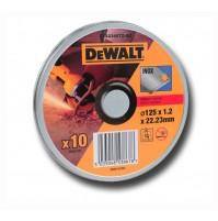 DeWALT DT42340TZ - rezné kotúče 10ks 125mm