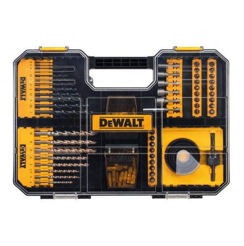 DeWalt DT71569 - Sada 100 ks bitov a vrtákov