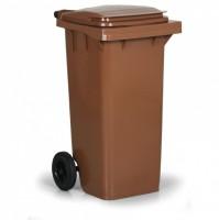 KUKA-nádoba na odpad 120l hneda