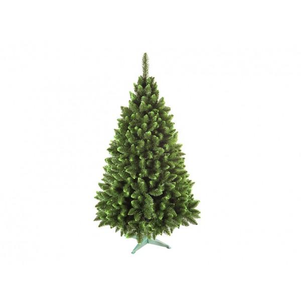 Umelý vianočný stromček JEDĽA so zelenymi koncami 160cm