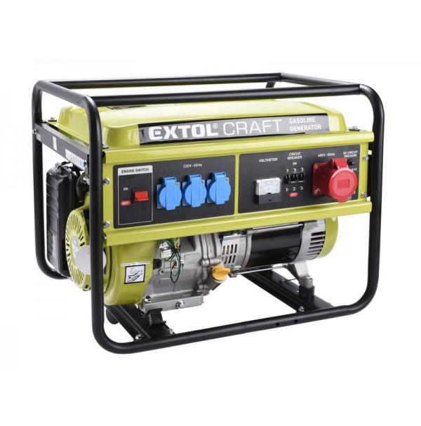 Extol Craft elektrocentrála 13HP/5, 5kW (400V) 421011