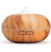 Nature7 aroma difuzér Sumó, osvežovač a zvlhčovač vzduchu, svetlé drevo, 300ml