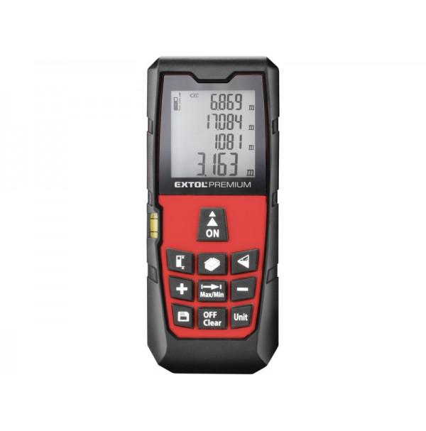 Extol Premium merač vzdialeností laserový 80m 8820043