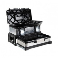 STANLEY 1 95 830 kovoplastový box na náradie so zásuvkou galvanizovaný