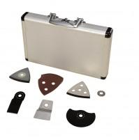 Scheppach 17 dielny set príslušenstva k multifunkčnému nástroju (aku set L1)