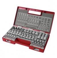 Fortum sada nástrčných a zástrčných kľúčov TORX 32-dielna 4700020
