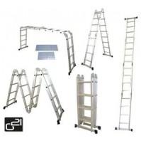 Hliníkový rebrík multifunkčný G21 GA-SZ-4x4-4.6M