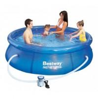 BESTWAY kruhový bazén 244x66 s filtráciou