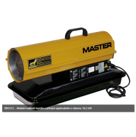 Master B 65 CEL - naftový ohrievač