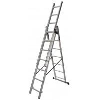 Rebrík trojdielny multifunkčný 3x13