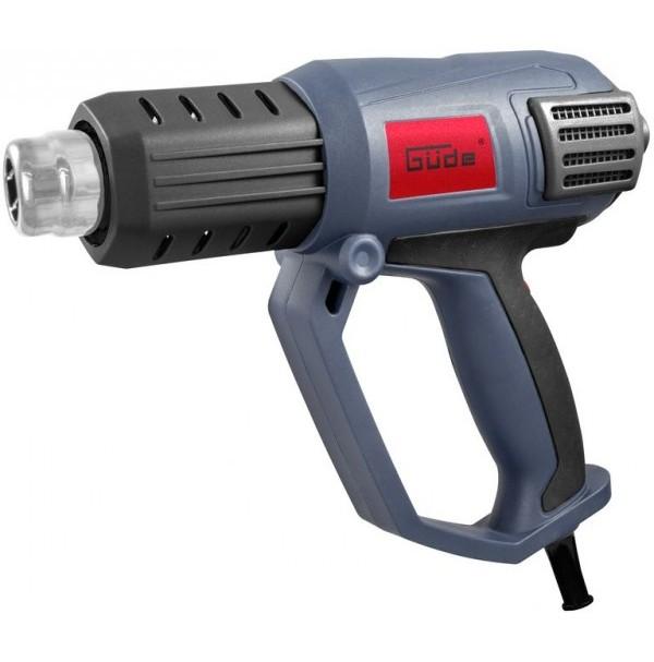 Teplovzdušná pištoľ Güde HLG 650-2000 LCD 58121
