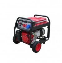 HECHT GG 5000 - jednofázový generátor elektriny