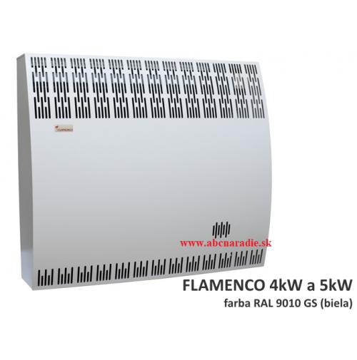 Flamenco 5 PP - plynové kachle s odťahom cez stenu