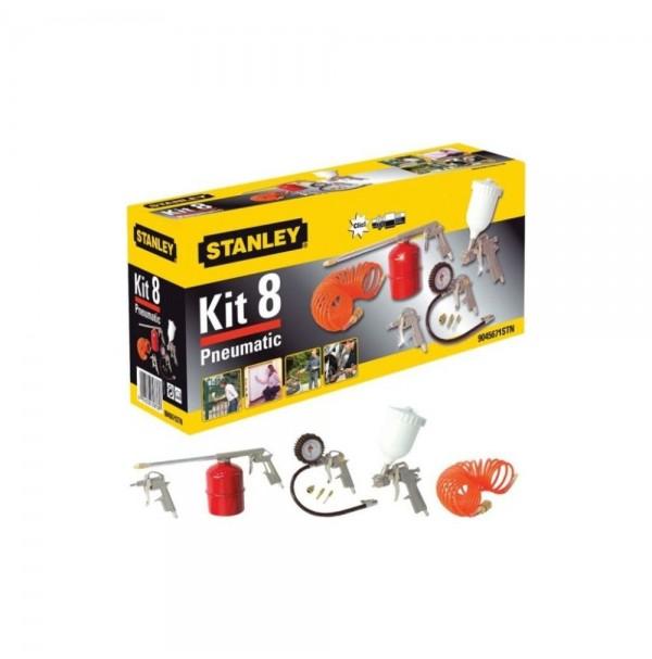 STANLEY 8-dielny KIT BOX pneu náradia 9045671STN