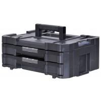 Stanley box TSTAK IV s 2 zásuvkami na náradie, FMST1-71969