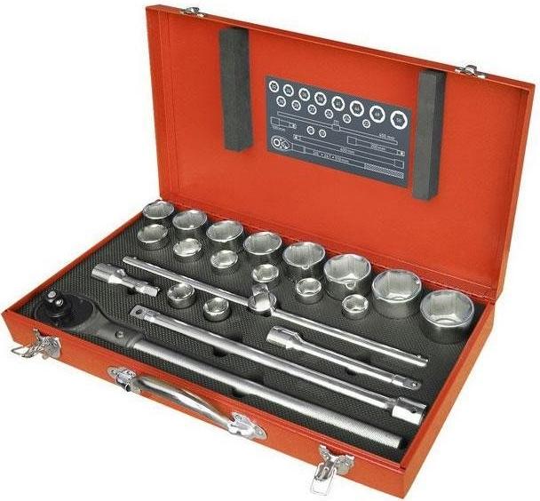 EXTOL PREMIUM 8818350 Sada 22-dielna nástrčných kľúčov
