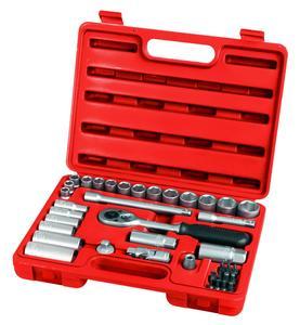 EXTOL PREMIUM 6522 39 dielna sada nastrčných klúčov