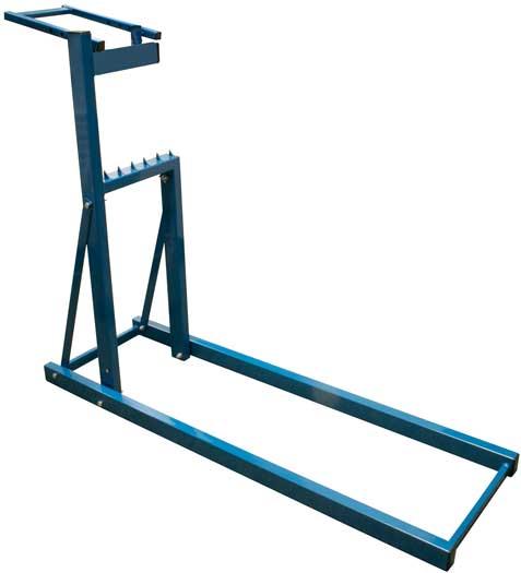 Stojan na rezanie dreva, nosnosť 150kg, 119x38x101cm